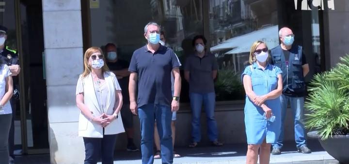 [Vídeo] Minut de silenci en record de les víctimes del coronavirus