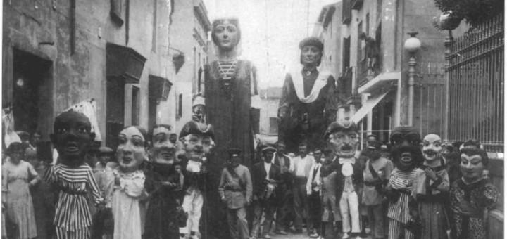 BiblioCalella_Patufet-Gegants-FestaMajor-1914