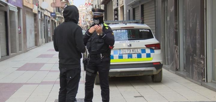 Control de la Policia Local durant el període de confinament