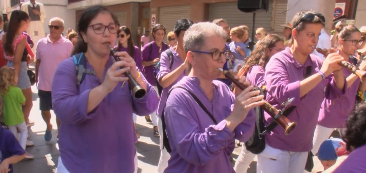 Els grallers de la Colla de Gegants oferiran un concert des del balcó de l'Ajuntament