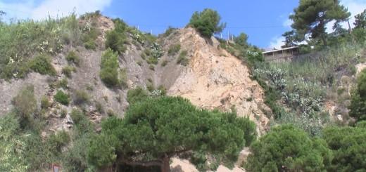 [Vídeo] Territori inicia les obres als talussos de l'N-II per evitar nous despreniments