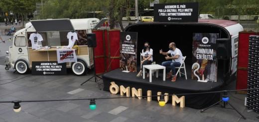 El vicepresident d'Omnium, Marcel Mauri, durant la presentació de la campanya d'estiu de l'entitat