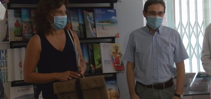 """[Vídeo] L'ATC entrega el primer dels premi de la campanya """"Calella és solidària"""""""