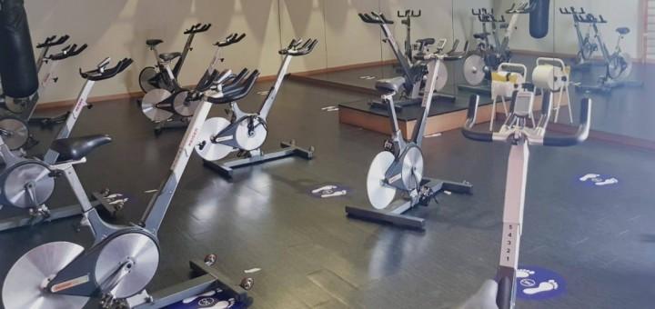 Sala d'spinning del gimnàs CISE, en una imatge d'arxiu