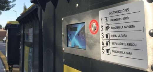 Barcelona és una de les ciutats catalanes on s'han instal·lat contenidors intel·ligents per millorar la selectiva