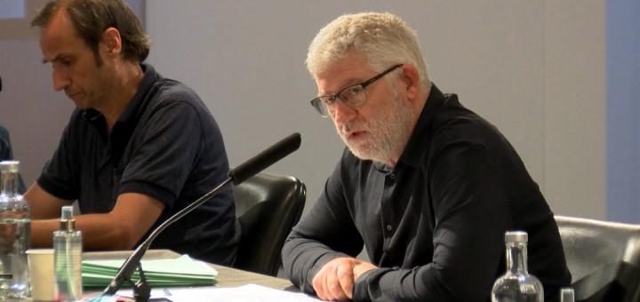 Intervenció de Sebastián Tejada en l'última sessió plenària presencial, el juny passat