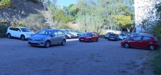 L'aparcament de Can Saleta és ara d'ús exclusiu per als treballadors de l'hospital.