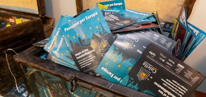 Butlletes de participació en el sorteig del Sumaquilòmetres del 2020