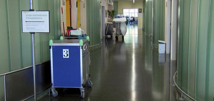 Àrea d'hospitalització del Sant Jaume de Calella