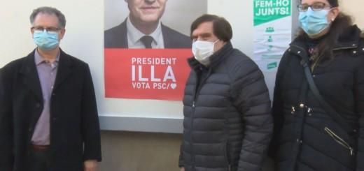 [Vídeo] El PSC confia que l'efecte Illa els portarà a governar novament Catalunya
