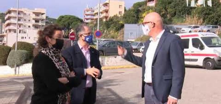 [Vídeo] El PSC es presenta com la garantia que s'ampliarà l'hospital de Calella