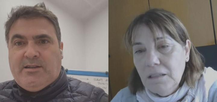 Francesc Cayuelas i Maria Arellano.