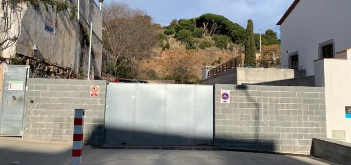 El Govern preveu destinar una partida inicial de mig milió d'euros al projecte del futur aparcament de Can Saleta
