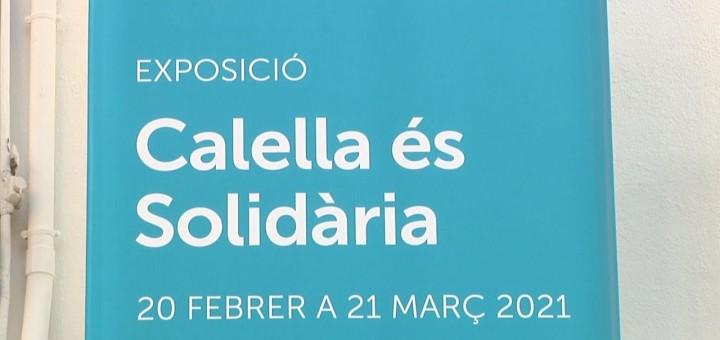 """[Vídeo] Obre les portes l'exposició """"Calella és solidària"""" a l'Ajuntament Vell"""