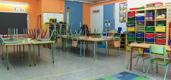 Aula de l'Escola La Minerva