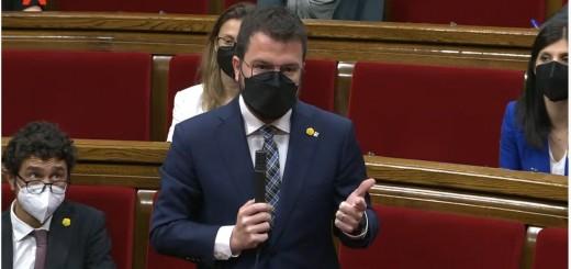 aragonès al parlament