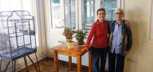 Les germanes Carme Santeeulària i Enriqueta Matabosc han estat les dues últimes religioses que la congregació de les Germanes Carmelites de la Caritat Vedruna ha tingut a Calella
