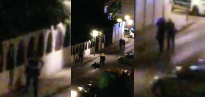 [Vídeo] Crit d'auxili a la justícia per la deriva violenta de la situació a la Bruna