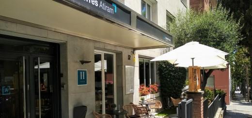 Hotel Atiram de Barcelona, on els turistes faran la quarantena.