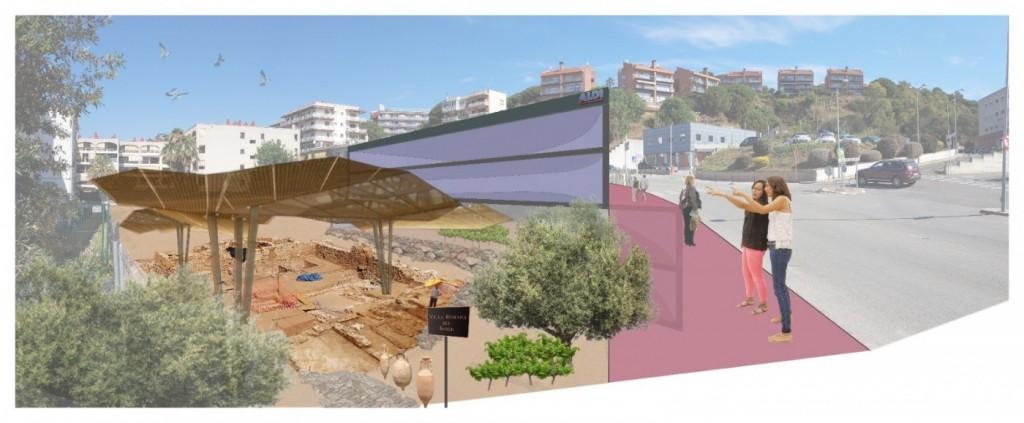Aquesta és la recreació de la proposta alternativa plantejada per la plataforma veïnal