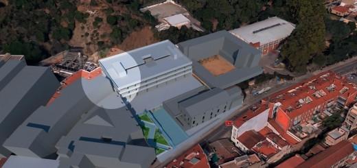 L'avantprojecte d'aparcament de Can Saleta preveia que la construcció estigués a tocar del recinte hospitalari