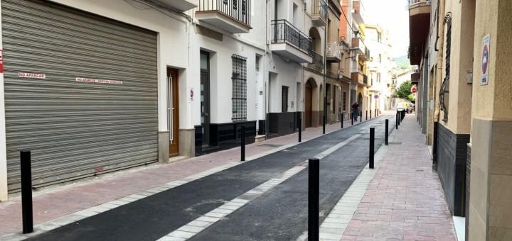 El tram de Sant Pere, entre Sant Antoni i Bruguera, s'ha reobert al trànsit aquesta setmana