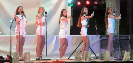 Actuació de la darrera edició de la Nit Blanca de l'Atsoc, agost del 2019