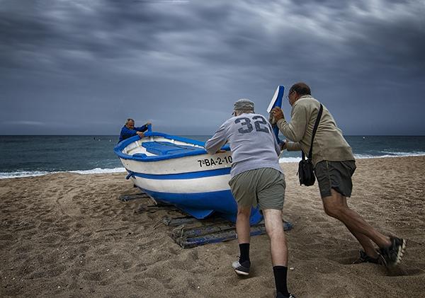 web 03 30è TROFEU CARPINELL 2021 Tercer Premi JORDI LÓPEZ títol Empenyent barca