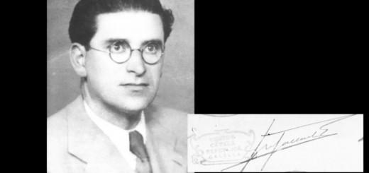 Josep Gallart va ser un dels fundadors d'Esquerra i el primer alcalde del partit (Imatge extreta del documental 80 anys d'Esquerra Calella)
