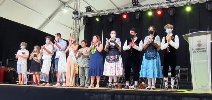 Traspàs del Pubillatge de Calella durant l'última Festa Major de la Minerva