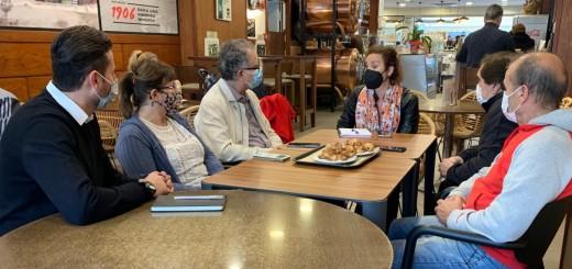 Romero s'ha reunit aquest matí amb representants del PSC de Calella